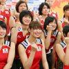 [画像あり]バレー女子日本代表って皆可愛いけど、なでしこジャパンは皆ブタゴリラだよなwwwww