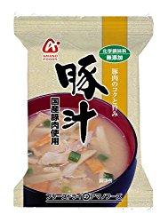 アマノフーズ 無添加 豚汁 12.5g×10個